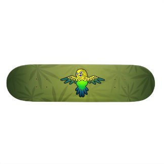 Cartoon Budgie Individuelle Skatedecks