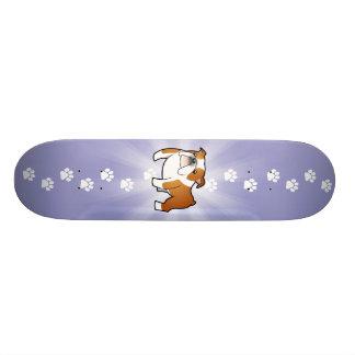 Cartoon-Bulldogge 20,1 Cm Skateboard Deck