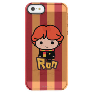 Cartoon-Charakter-Kunst Ron Weasley Durchsichtige iPhone SE/5/5s Hülle