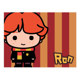 Cartoon-Charakter-Kunst Ron Weasley Postkarte