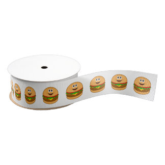 "Cartoon-Cheeseburger 1,5"" Ripsband"