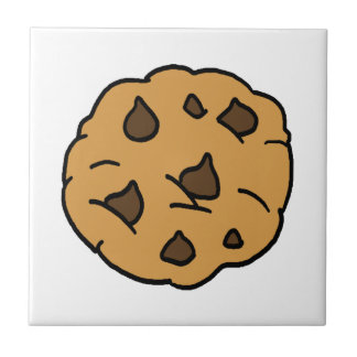 Cartoon Clipart ENORMER Schokoladenkeks-Nachtisch Fliese