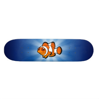 Cartoon Clownfish Skateboarddeck