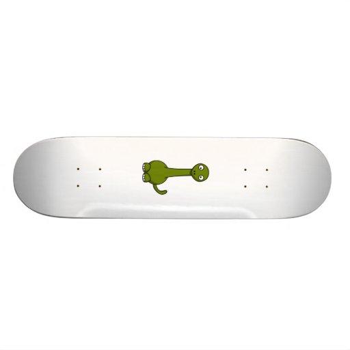Cartoon-Dinosaurier Skateboard Brett