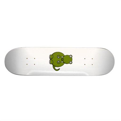 Cartoon-Dinosaurier Skateboard Deck