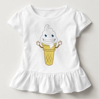 Cartoon-Eiscreme Kleinkind T-shirt