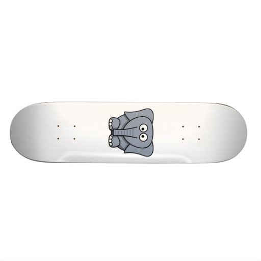 Cartoon-Elefant Personalisierte Skateboarddecks