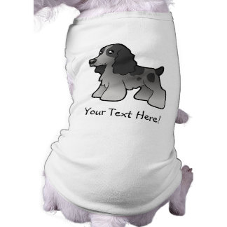 Cartoon-englischer Cockerspaniel Top