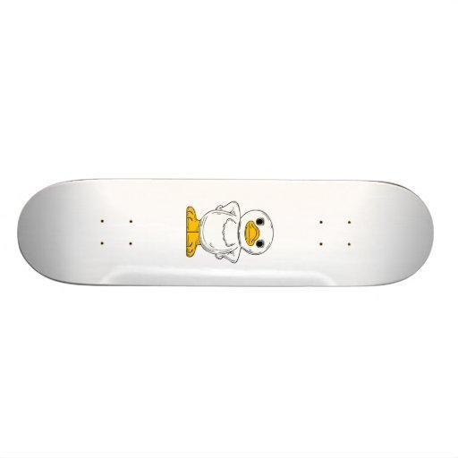 Cartoon-Ente Personalisierte Skateboards