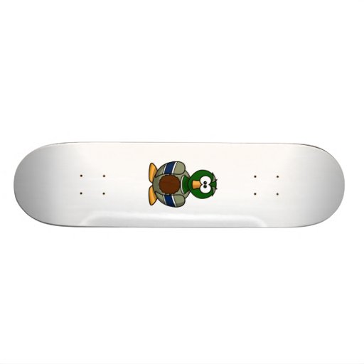 Cartoon-Ente Individuelles Skateboard