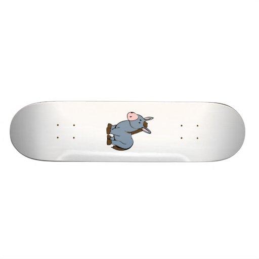 Cartoon-Esel Personalisiertes Skateboard