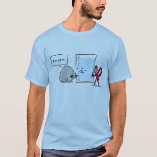 Cartoon-Felsen-Papier Scissors T - Shirt