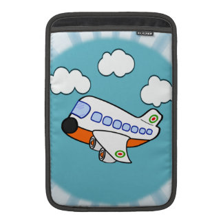 Cartoon-Flugzeug MacBook Air Sleeve