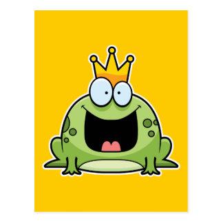 Cartoon-Frosch-Prinz Postkarten