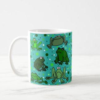 Cartoon-Frosch-Tasse Kaffeetasse