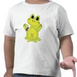 Cartoon-Froschspaß-Kleinkind-T - Shirt