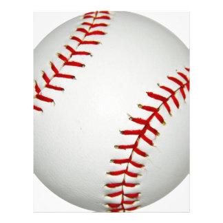 Cartoon gezeichneter amerikanischer Baseball Flyer
