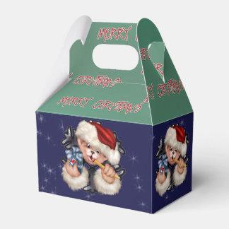 CARTOON Giebel-Bevorzugungs-Kasten des Geschenkschachtel