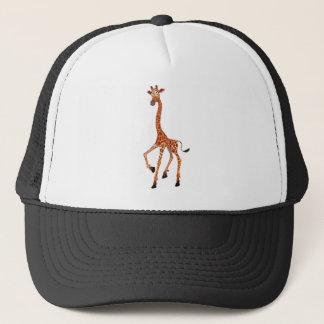 Cartoon-Giraffe Truckerkappe