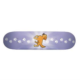 Cartoon-goldener Retriever Personalisierte Skateboards