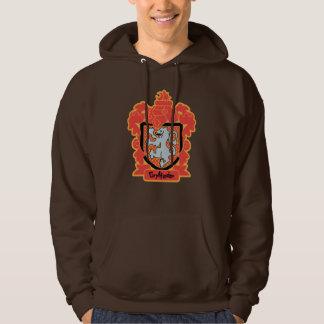 Cartoon Gryffindor Wappen Hoodie
