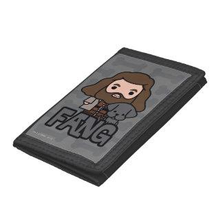 Cartoon Hagrid und Reißzahn-Charakter-Kunst