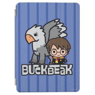 Cartoon Harry Potter und Buckbeak iPad Air Hülle