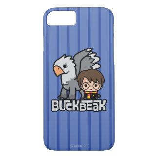 Cartoon Harry Potter und Buckbeak iPhone 8/7 Hülle