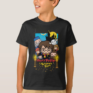 Cartoon Harry Potter und der Stein des Zauberers T-Shirt