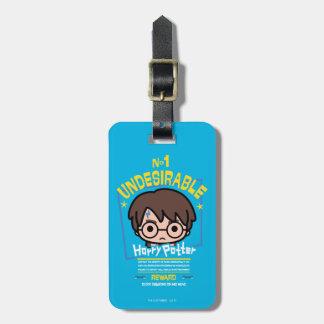 Cartoon Harry Potter wollte Plakat-Grafik Gepäckanhänger