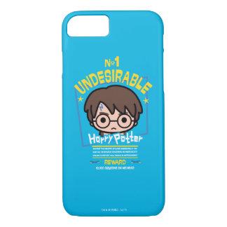 Cartoon Harry Potter wollte Plakat-Grafik iPhone 8/7 Hülle