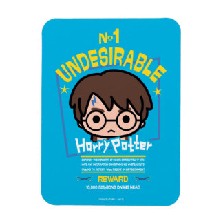 Cartoon Harry Potter wollte Plakat-Grafik Magnet