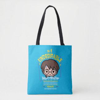 Cartoon Harry Potter wollte Plakat-Grafik Tasche
