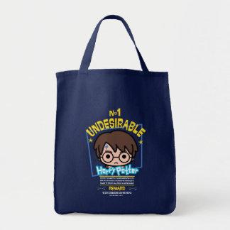 Cartoon Harry Potter wollte Plakat-Grafik Tragetasche