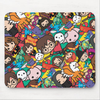 Cartoon-Harry- Pottercharakter-Wurf-Muster Mousepad