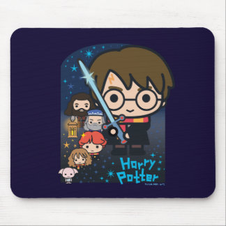 Cartoon-Harry- Potterkammer der Geheimnisse Mousepad