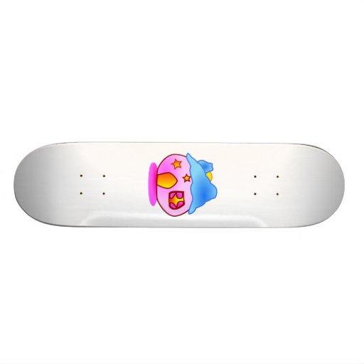 Cartoon-Haus Individuelle Skateboards