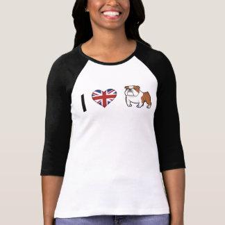 Cartoon-Haustier mit Flagge T-Shirt