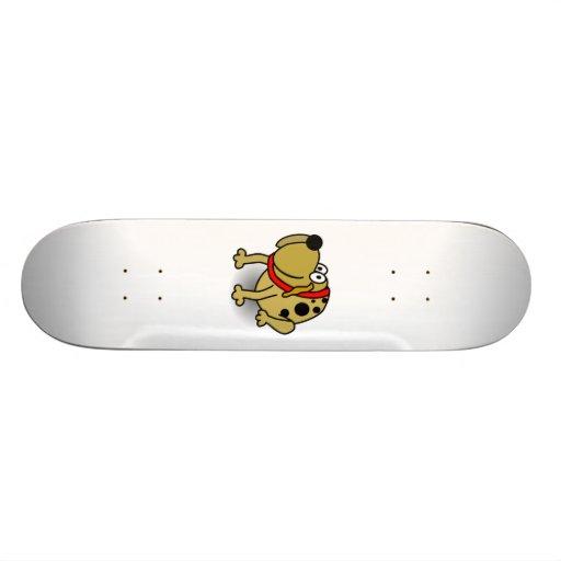 Cartoon-Hund Personalisiertes Skatedeck