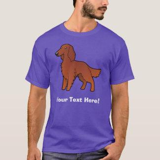 Cartoon irisch/Englisch/Setzer Gordons/R&W T-Shirt