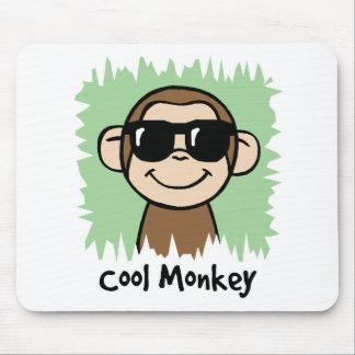 Cartoon-Klipp-Kunst-cooler Affe mit Sonnenbrillen Mousepads
