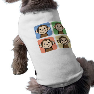 Cartoon-Klipp-Kunst mit 4 glücklichen Affen Top
