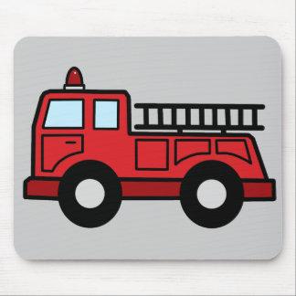 Cartoon-Klipp-Kunstfiretruck-Notfahrzeug-LKW Mauspads