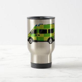 Cartoon-Krankenwagen Reisebecher