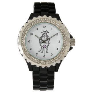 Cartoon-Kuh Armbanduhr