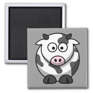 Cartoon-Kuh Magnete