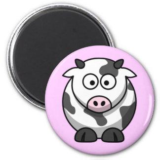 Cartoon-Kuh Kühlschrankmagnet