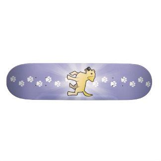 Cartoon-Labrador-Retriever Skateboarddeck
