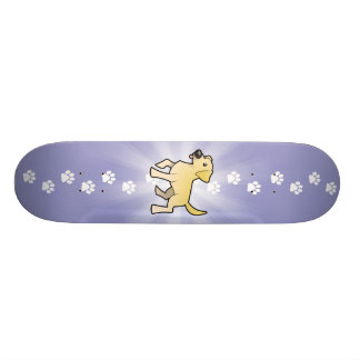 Cartoon-Labrador-Retriever Skateboard Bretter