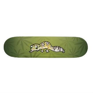 Cartoon-LeopardGecko Personalisierte Skateboarddecks